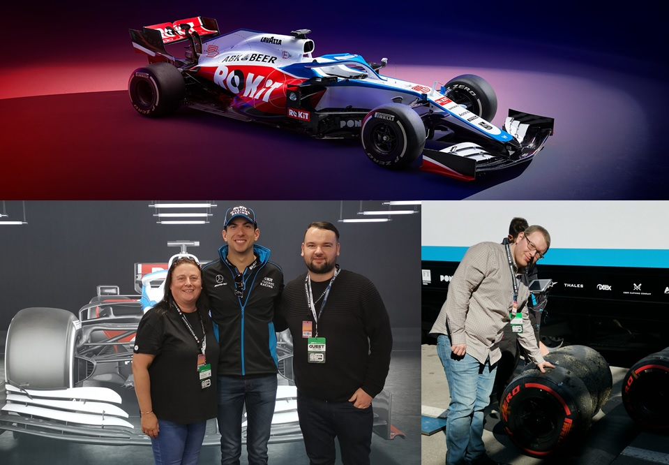 F1 Barcelona pre-season testing event by Acronis