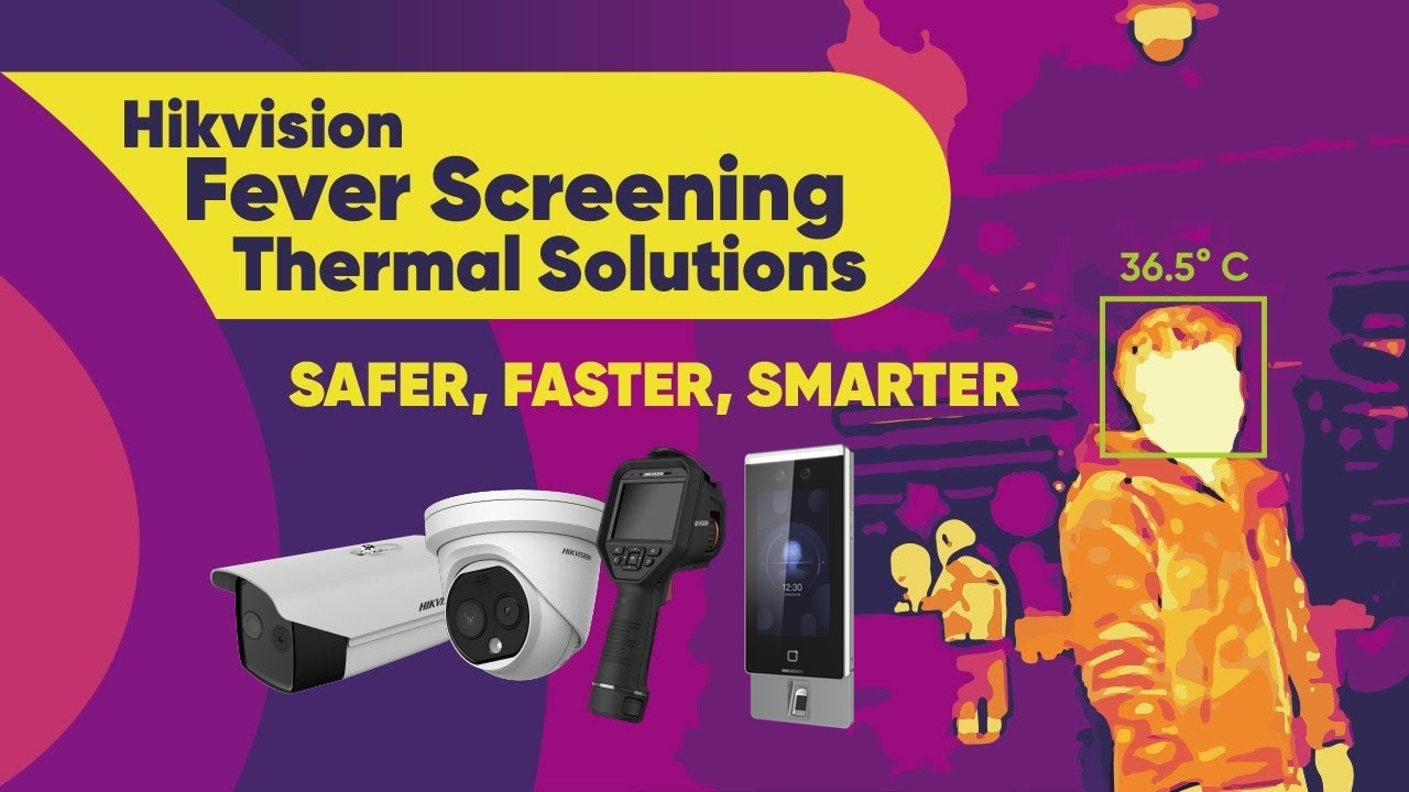 Temperature Screening Thermal Camera Solution